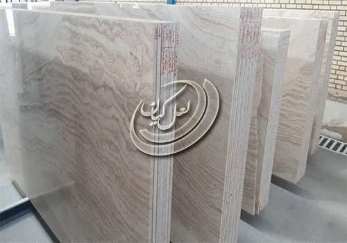 فروش فوق العاده سنگ سفید عباس آباد به سراسر کشور