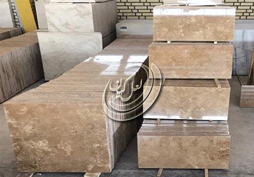 انواع سنگ تراورتن کرم صادراتی ایران
