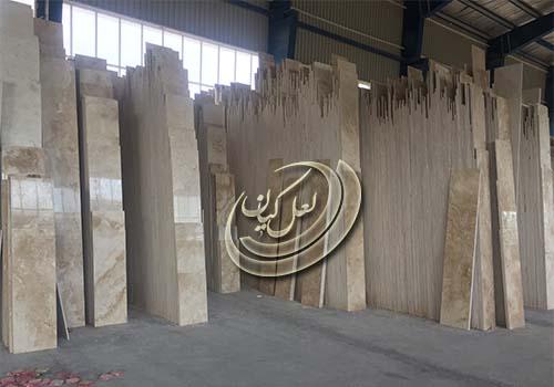 انواع سنگ تراورتن در ایران