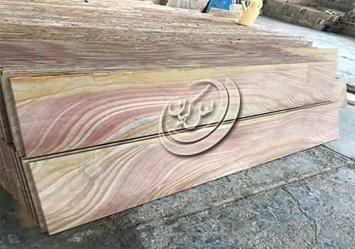 مرکز پخش تراورتن درجه یک طرح چوب