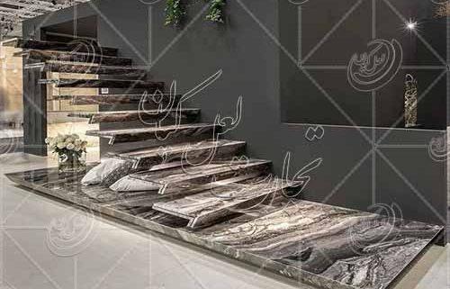 قیمت انواع سنگ پله تراورتن درجه یک